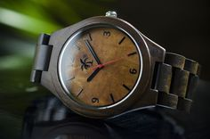 Palm Trading Co. Visits the Caribbean Island of Dominica and Designs the Dominica Series Island Style Wood Watch