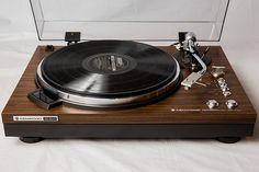 keep 'em spinning! — analog-dreams: 1979 Kenwood KD-5077 turntable....