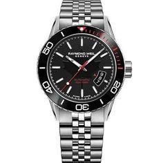 5ef6f966b9d Raymond Weil 2760 ST5 CA150 Mens Freelancer Silver Automatic Watch  fashion   watches  raymondweil