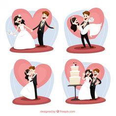 Apenas casado | Baixar vetores grátis