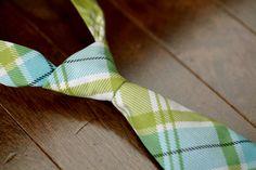 0-12 Month Baby Boy Tie, Velcro Closure, Special Occasion, Photography Prop. $18.00, via Etsy.