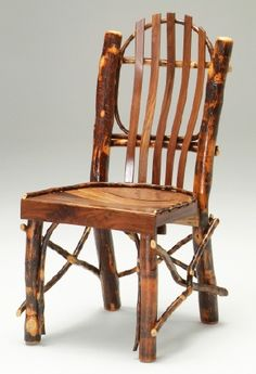 Rustic Dining Chairs solid wood chairs, natural wood chairs, elegant rustic | home on