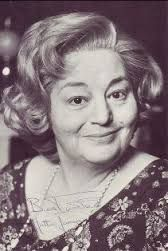 The very lovely Hattie Jacques - she always reminds me of my Aunty Molly.