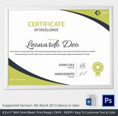 Merit certificate templates excel pdf formats home design idea certificate excellence template award download psd pdf yadclub Image collections