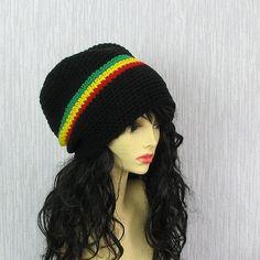 d9363c91425 Dreadlocks Accessories Dreads Hat Crochet Rasta slouchy hat