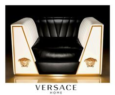 versace home collection 2012 black and gold | versace home, Attraktive mobel