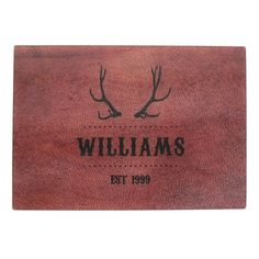 Antlers Glass Cutting Board