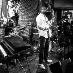 The incomparably funky Howard Wiley and @extranappy ...last night was on! #DTSJ #funk #Jazz #saxophone #livemusic