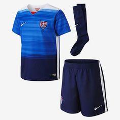 9135a65fb Nike usa soccer little boys away kit 2015 16