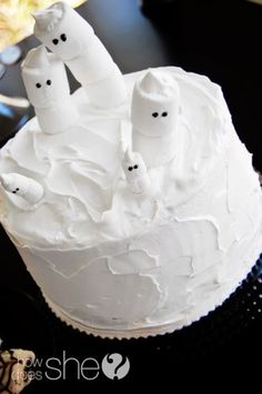 Ghost cake!