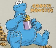 Oscar The Grouch, Jim Henson, Cookie Monster, Bart Simpson, Fictional Characters, Fantasy Characters