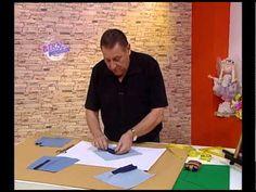 Hermenegildo Zampar - Bienvenidas TV en HD - Terminación de las mangas de la camisa de hombre - YouTube Pattern Drafting Tutorials, Hermes, Couture, Videos, Sewing, Crafts, Sewing Projects, Kids Fashion, Vestidos