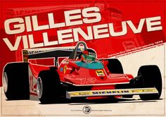 Gilles Villeneuve by Evan DeCiren