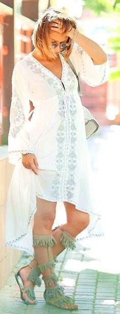 #boho #fashion #spring #outfitideas Galant Girl Summer Boho Dress  - more on http://ift.tt/2rynWxj