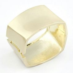 A26564 gold rectangular bangle