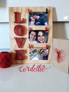 A great gift to celebrate dating or wedding anniversaries! * Wood …, … - Diy Gifts For Brothers Ideen