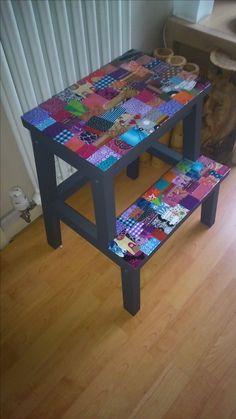 teebox aus holz mit anleitung vintage servietten. Black Bedroom Furniture Sets. Home Design Ideas