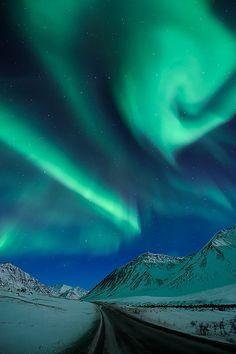 Epic Aurora, Alaska - US  by Ben H.