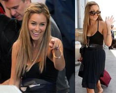 Lauren Conrad. I love her hair her. It's really pretty and simple.