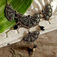 Hana Tassel Necklace ~ Hand-Crafted by artisans in India via worldmarket.com/craft #CRAFTBYWORLDMARKET