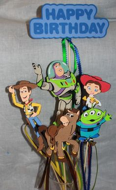 Centerpiece for Toy Story party