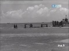 Jeudi 8 juin 1944 - Les troupes sur la plage d'Utah Beach