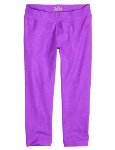 Glitter Capri Leggings | Everyday | Leggings | Shop Justice