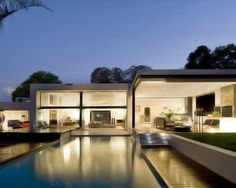 Modern Architecture Mosi House by Nico van der Meulen Architects