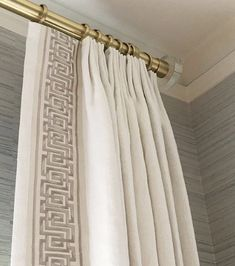 Window treatments can make or break a room, but quality drapes and shades can cost alot. Today I& sharing how I created custom ikea curtains on a budget. Curtains And Draperies, Curtains Living, Drapery Panels, Drapes Curtains, Window Drapes, Pinch Pleat Curtains, Dining Room Drapes, Long Shower Curtains, Modern Curtains