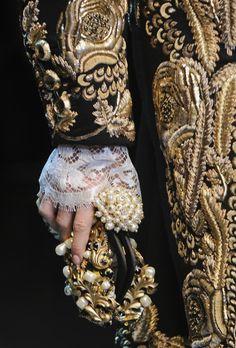 Veste dorée Baroque