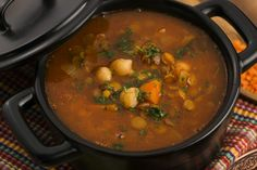 Moroccan Beef Soup.