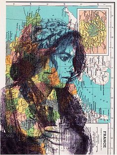 JACKIE BASSETT COLLAGE ART: Collage Art