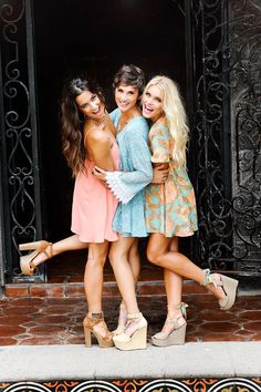 Show me your Mumu! Love these dresses and shoes