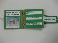 @Emily Schoenfeld Kathryn  Let's make these! 3 Branches of Government Minibook....made from a sandwich bag! We start gov. next week.