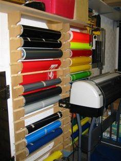 An idea for vinyl racks ...