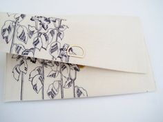 Floral Clutch - so pretty and delicate!