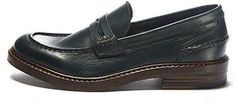 Buttero CLASSIC penny loafer deep green