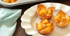 Low-Calorie Easy Dessert Recipes: Personal Peach Pies, Apple S'mores   Hungry Girl