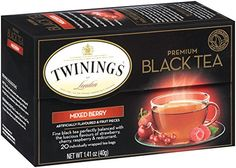 I've started drinking tea to get healthy and this is the BEST ever!
