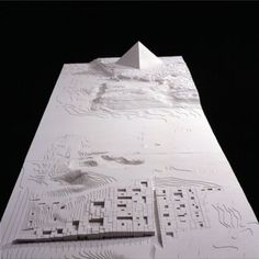 #3d #Printed Architectural model. Start making your own 3d prototype now at: http://www.mylocal3dprinting.com