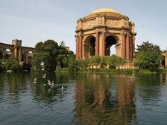 Palace of Fine Arts Exploratorium, San Francisco California