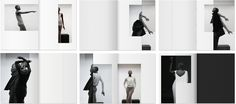 Rick Owens Lookbooks Layout by Non Format
