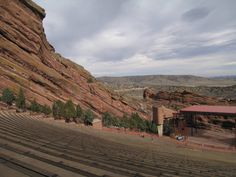 Red Rocks Park near Denver Colorado. This picture is of the amphitheater where concerts have been held for nearly a century. To see a concert here is an experience of a lifetime!