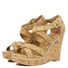Katherine Cork Wedge