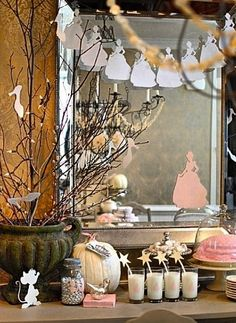 Cinderella birthday party decorations