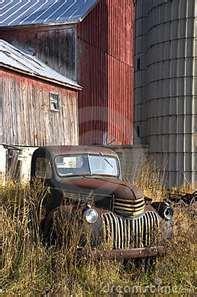 old forgotten cars and trucks   ... cars and barns rusty trucks pickup trucks…