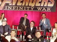 #TomHiddleston at the #Avengers: #InfinityWar Press Junket in Los Angeles, CA April 22nd, 2018. Source: https://twitter.com/ZoeSaldana_br/status/988171405408784384?s=19  #Loki