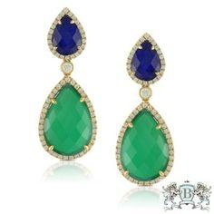 Doves Emerald Dreams Earrings E6201LPGA