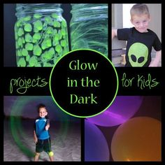 Glow in the Dark! Projects for Kids