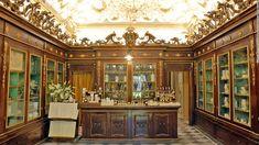 Officina Profumo-Farmaceutica di Santa Maria Novella in Florence, Italy - a 600 yr old perfumery and pharmacy still using it's original recipes.